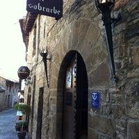Photo taken at Bodegas del Sobrarbe by Joseba Iñaki B. on 3/31/2012