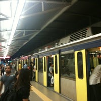 Photo taken at RapidKL Hang Tuah (ST3) LRT Station by Dan M. on 6/12/2012