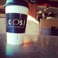 Photo taken at Cosi by Shaun D. on 4/9/2012