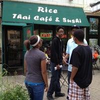 Photo taken at Rice Thai Cafe by Huggi W. on 5/20/2012