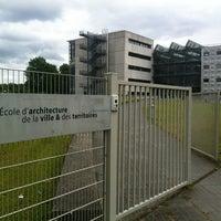 Photo taken at Ecole d'Architecture de MLV by Antoine B. on 6/10/2012