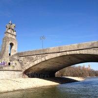 Photo taken at Wittelsbacherbrücke by Richard B. on 3/1/2012