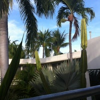 Photo taken at El Patio Motel Roof Deck by Miranda W. on 8/17/2012