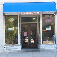 Photo taken at Old School Pizza by Valerie R. on 4/9/2012
