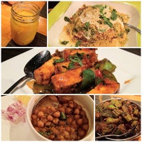 Photo taken at Bhojan Vegetarian Restaurant by Tommy C. on 8/26/2012