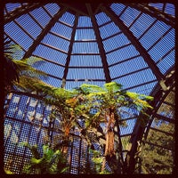 Photo taken at Botanical Building & Lily Pond by Sparrow F. on 2/23/2012