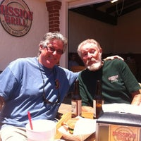 Photo taken at Mission Grill by Sara B. on 6/17/2012