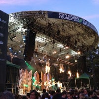 Photo taken at Central Park SummerStage by Adam S. on 8/7/2012