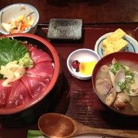 Photo taken at Doraya 定食 by Kaori K. on 5/30/2012