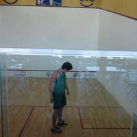 Photo taken at Escola Mineira de Squash by Maíra R. on 7/14/2012