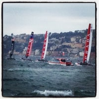Photo taken at America's Cup Village by Luca C. on 4/11/2012