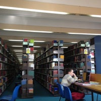 Photo taken at The University of Manchester Main Library by Puck S. on 3/13/2012