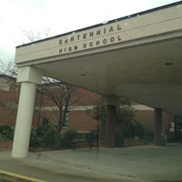 Photo taken at Centennial High School by Becky R. on 3/12/2012