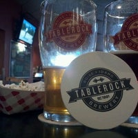 Photo taken at TableRock Brewpub by Christian D. on 2/24/2012