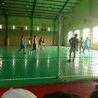 Photo taken at kebraon sport centre, surabaya by Heru P. on 2/20/2012