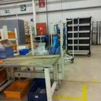Photo taken at werkplaats by Buysse M. on 8/30/2012