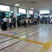 Photo taken at Nishitetsu Tenjin Expressway Bus Terminal by としパパ on 5/6/2012