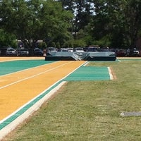 Photo taken at Southeastern Track and Field Complex by Jabari E. on 5/1/2012