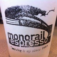 Photo taken at Monorail Espresso by Rodney D. on 7/25/2012