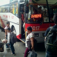 Photo taken at Victory Liner (Cubao Terminal) by Teejay on 2/16/2012