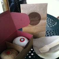 Photo taken at Sprinkles Cupcakes by Kate M. on 6/4/2012