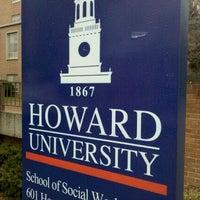 Photo taken at Howard University by Bethany R. on 2/16/2012