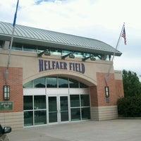 Photo taken at Helfaer Field by Rex F. on 5/25/2012