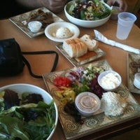 Photo taken at Greek City Cafe by Stephanie F. on 3/17/2012