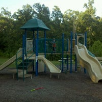 Photo taken at Covered Wagon Playground by Andrew A. on 5/30/2012