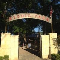 Photo taken at Kiddie Park by Julian M. on 3/23/2012