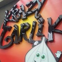 Photo taken at Krazy Garlik by nOeL m. on 3/22/2012