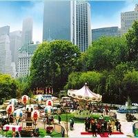 Photo taken at Victorian Gardens Amusement Park by Joeliz D. on 8/4/2012