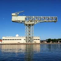 Photo taken at Norfolk Naval Shipyard by Edgar J. on 6/7/2012