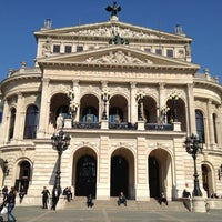 Photo taken at Alte Oper by Micho B. on 3/20/2012