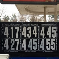 Photo taken at Mobil by Skinny T. on 3/16/2012