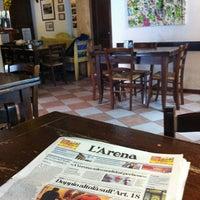Photo taken at Osteria a la Carega by simopg71 on 3/17/2012