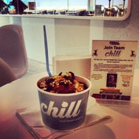 Photo taken at Chill Frozen Yogurt by Christopher on 6/24/2012