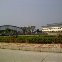 Photo taken at Sekolah Tinggi Penerbangan Indonesia (STPI) by Yayang D. on 6/28/2012