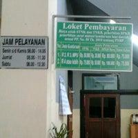 Photo taken at Samsat Surabaya Selatan by Lolok S. on 7/16/2012