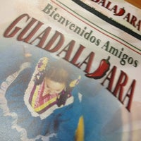 Photo taken at Guadalajara's Mexican Food by Drew G. on 9/5/2012