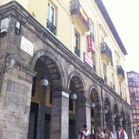Photo taken at Plaza Mayor by Andrés M. on 8/19/2012