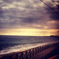 Foto tomada en Platja del Masnou por Xavi D. el 2/17/2012