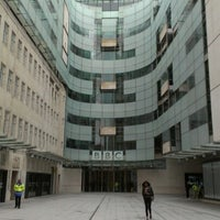 Photo taken at BBC Broadcasting House by Steve W. on 7/9/2012