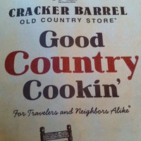 Photo taken at Cracker Barrel Old Country Store by Carlos C. on 5/20/2012