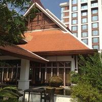 Photo taken at Shangri-La Hotel by Nan A. on 4/9/2012