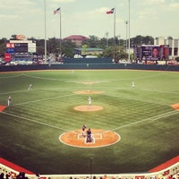 Photo taken at Disch-Falk Field by amy t. on 4/28/2012