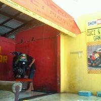 Photo taken at SnowWashSampingBriSedati by Ipunker M. on 7/3/2012