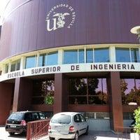 Foto tomada en Escuela Superior de Ingenieros por Juan M. el 7/18/2012
