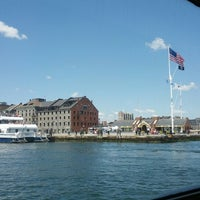 Photo taken at Boston Harbor Cruises by Steve R. on 7/22/2012