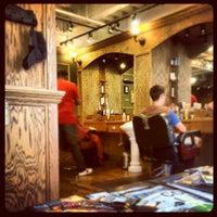 Photo taken at Tweed Barbers of Boston by Jake D. on 5/12/2012
